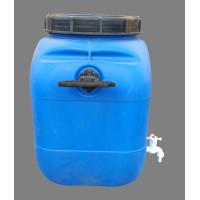 Бочка пластиковая 50 литровс краном,винтовая крышка и вкладыш