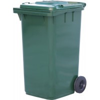 Контейнер для мусора на 240 л, на 2-х колёсах с крышкой. Арт. MК - 240