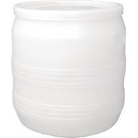 Бочка пластиковая 35 литров 340*380*340 винтовая крышка хлопок