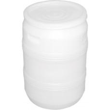 Бочка пластиковая 50 литров 600*380*340  крышка хлопок