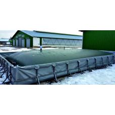 Емкость мягкая ПВХТ 100 кубов для дизельного топлива