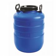 Бочка пластиковая 40 литров  365*365*530 винтовая крышка,вкладыш