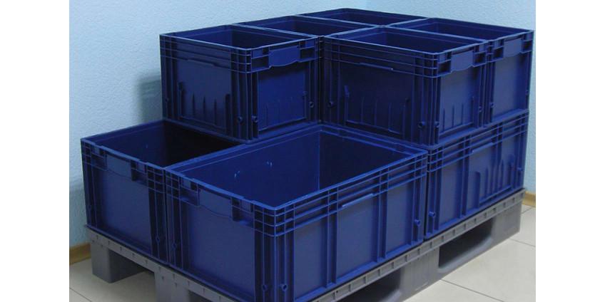 Пластиковые ящики для магазина