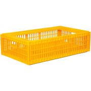 Ящик пластиковый для перевозки живой птицы без крышки  Арт. 311 б/к