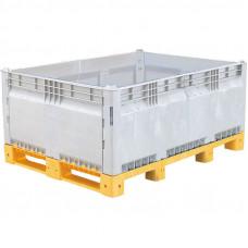 Разборный контейнер модель КитБин Мега, сплошной