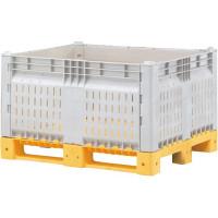 Разборный контейнер модель КитБин, перфорированный