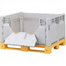 Контейнер разборный модель КитБин сплошной с дверцей