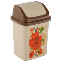 Контейнер для мусора  с рисунком «Комфорт» 10 литров