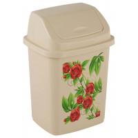 Контейнер для мусора с рисунком «Комфорт» 18 литров