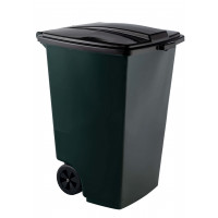 Контейнер для мусора на 120 л, на 2-х колёсах с крышкой. Арт. MКР - 120