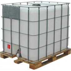 Емкость кубическая 1000 литров на деревянном поддоне