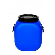 Бочка пластиковая 50 литров 490*380*253 винтовая крышка,вкладыш