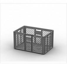 Пластиковый ящик 600х400х320 перфорированный (ЕСР-6432)