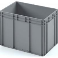 Пластиковый ящик ЕС-6442 серый с усиленным дном