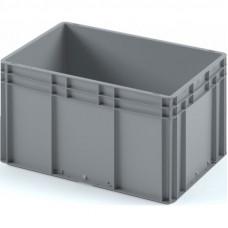 Пластиковый ящик 600х400х320 (ЕС-6432) с гладким дном