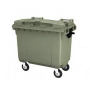 Мусорный контейнер MGBT-660 л, на 4-х колесах с крышкой