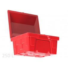 Ящик для песка, соли и реагентов на 250 литров