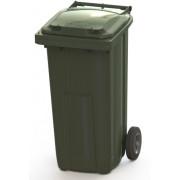 Контейнер для мусора на 120 л, на 2-х колёсах с крышкой. Арт. MGBT - 120