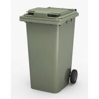 Контейнер для мусора на 240 л, на 2-х колёсах с крышкой. Арт. MGBT - 240