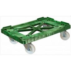 Тележка для пластиковых ящиков Арт. 508-1 полиамидные колеса