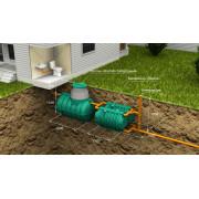 Автономная канализация «Rostok» Загородная Оптима